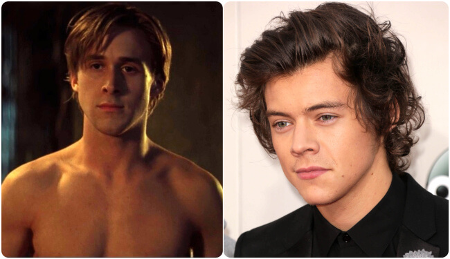 Harry Styles and Ryan Gosling