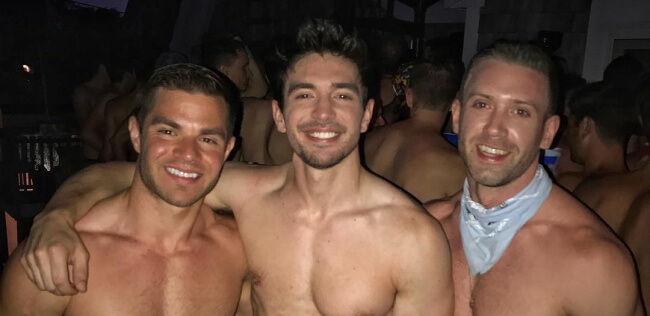 Steve Grand underwear party