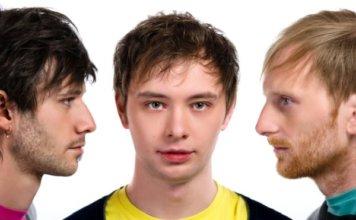Three young men