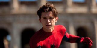 Tom Holland Spider-Man rome