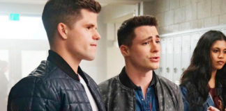 Colton Haynes and Charlie Carver Teen Wolf