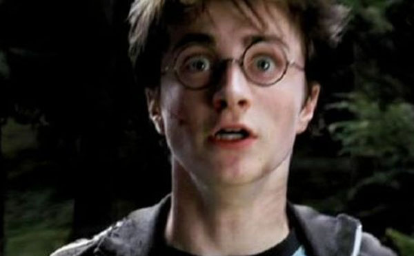 Harry Potter shocked