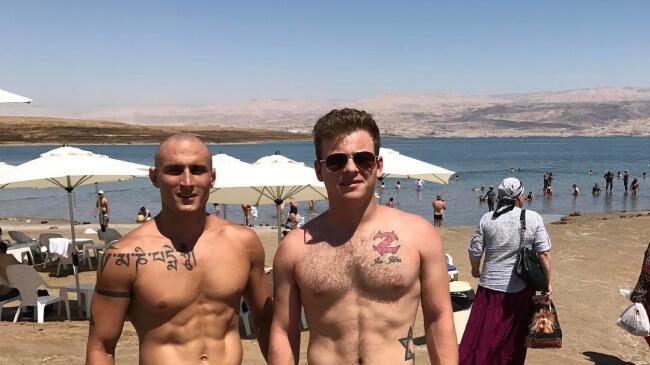 Jonathan Lipnicki the dead sea israel