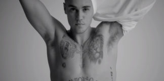 Justin Bieber hanes t-shirt ad