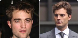 Robert Patiinson and Jamie Dornan