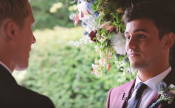 Tom Daley and Dustin Lance Black wedding video