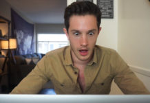 Dominic Whelton watches straight porn