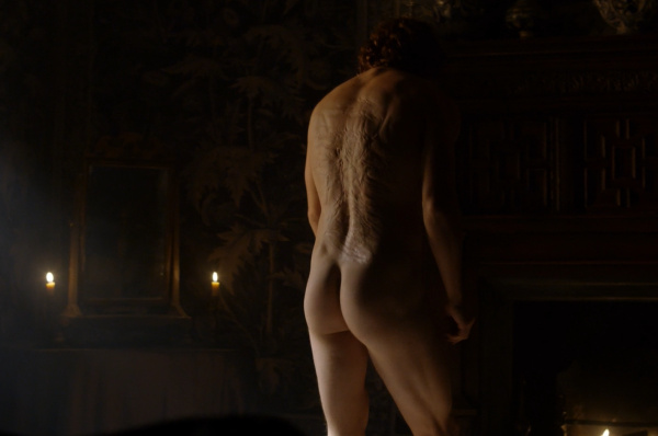 Sam Heughan naked outlander