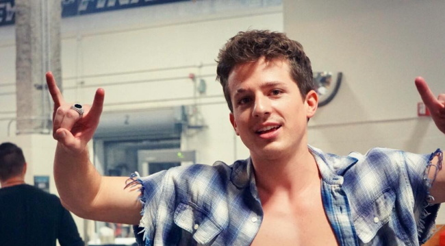 Charlie Puth abs