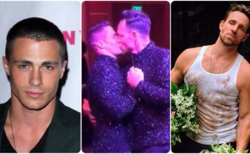 Colton Haynes Jeff Leatham wedding
