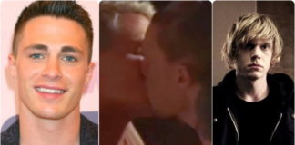 Evan Peters and Colton Haynes sex scene