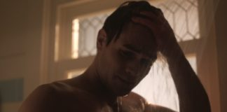 KJ apa shower riverdale