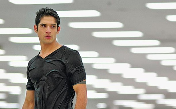 Tyler Posey on teen wolf