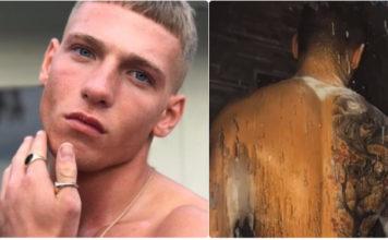 Brandon Myers shower