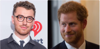 Sam Smith and Prince Harry