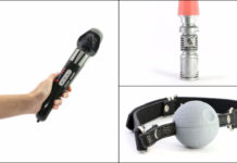 Star Wars inspired sex toys
