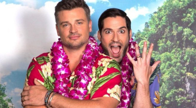 Tom Welling Tom Ellis married lucifer
