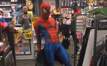 Dancing Spiderman Ghetto Spider