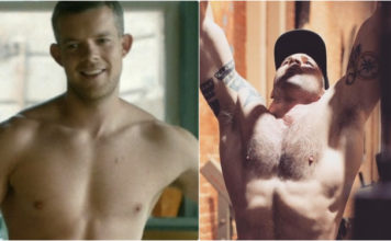 Russell Tovey and Steve Brockman engaged