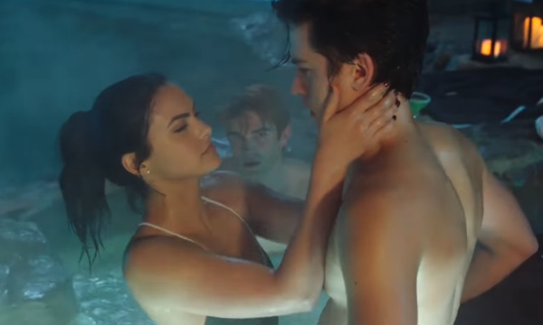 Riverdale hot tub scene