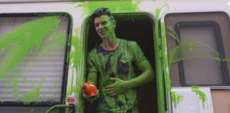 Shawn Mendes green slime