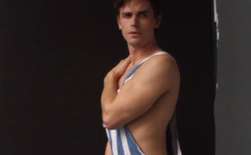 Antoni Porowski gay times photshoot