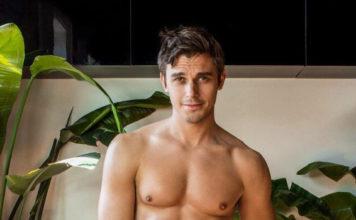 Antoni Porowski semi naked