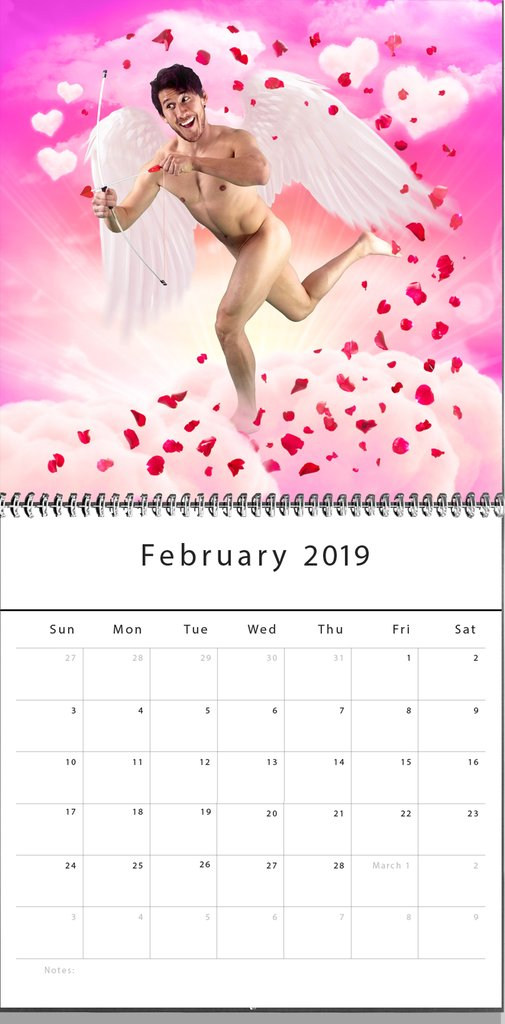 Markiplier Calendar cupid