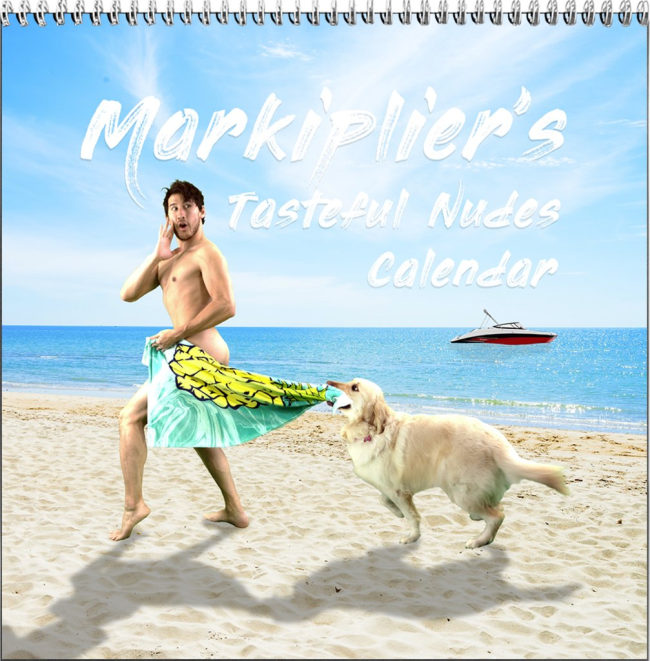 Markiplier calendar dog