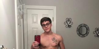 Blake Mitchell new glasses
