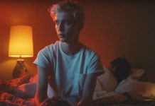 Troye Sivan in bed bloom