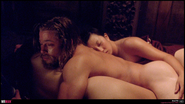 Brad Pitt naked legend of the fall