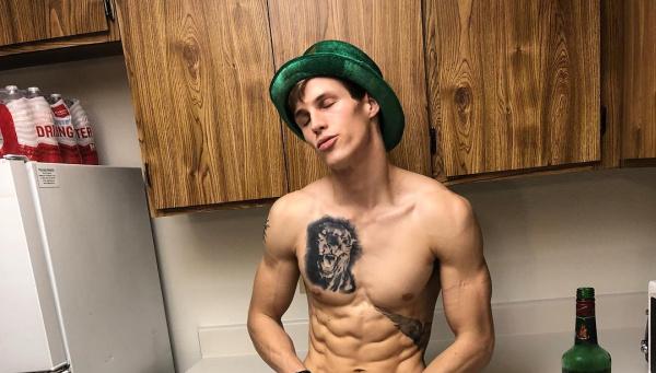 Daniel Jensen green hat