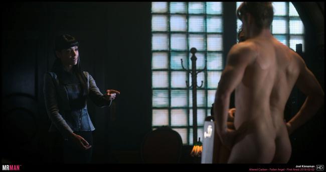 Joel Kinnaman naked