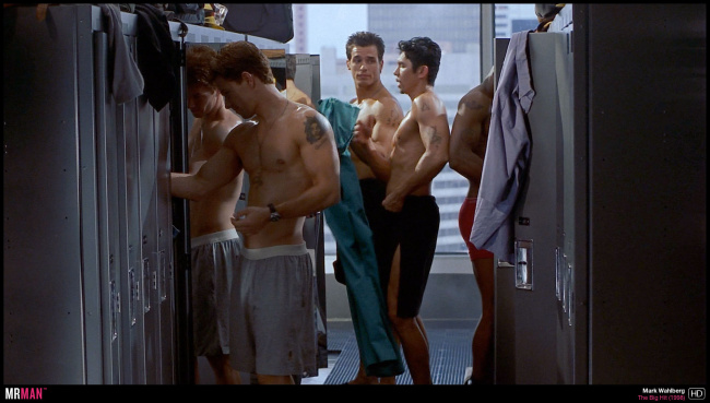Mark Wahlberg shirtless the big hit