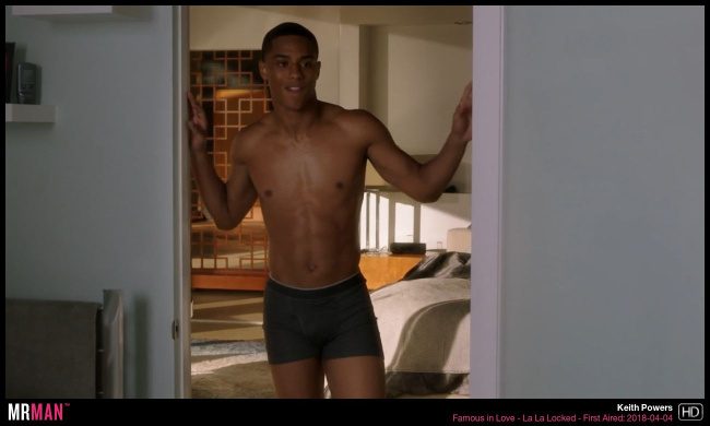 Keith Powers famous in love