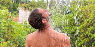 Max Emerson nude shower