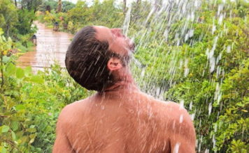 Max Emerson nude shower