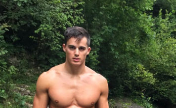 Pietro Boselli shirtless italy