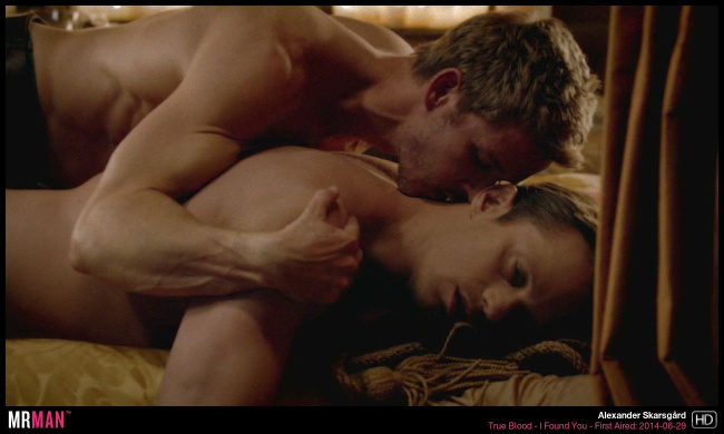 Alexander Skarsgard gay sex true blood