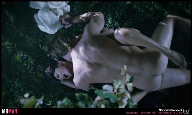 Alexander Skarsgard naked true bloo