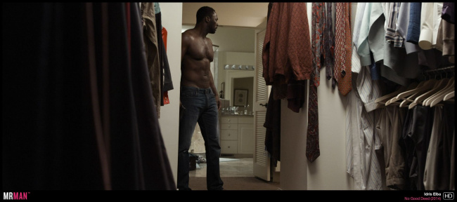 Idris Elba shirtless no good deed