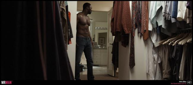 Idris Elba shirtless no good deed
