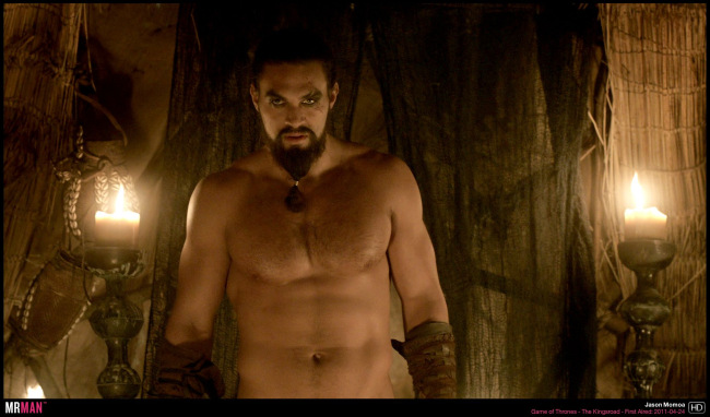 Jason Momoa shirtless game of thrones