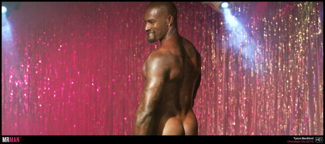 Tyson Beckford naked chocolate city