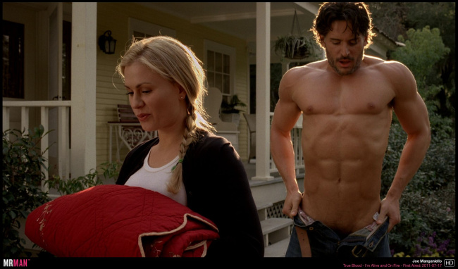 joe manganiello strips true blood