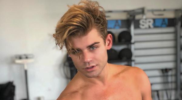 Garrett Clayton gym