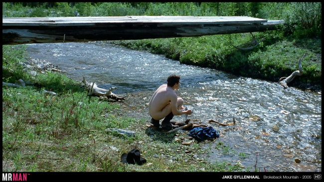 Jake Gyllenhaal naked - Brokeback Mountain