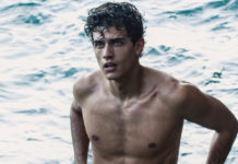 Xavier Serrano swimming