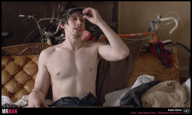 Adam Driver shirtless girls